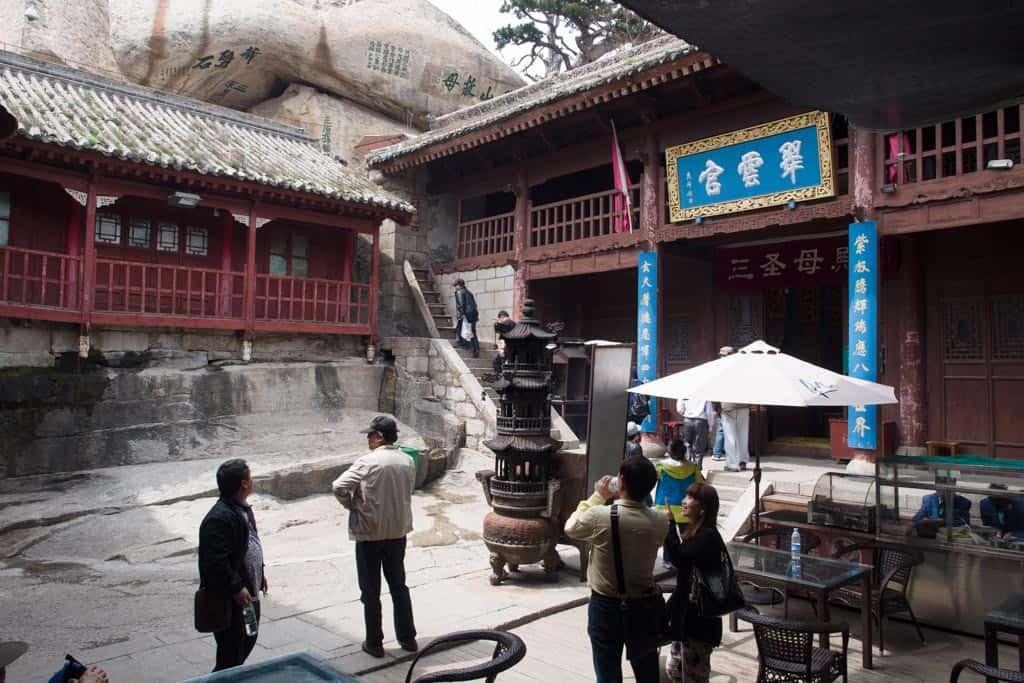 Taoist temple called Cuiyun Palace at West Peak.