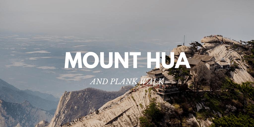 Death Defying Plank Walk on Mount Hua