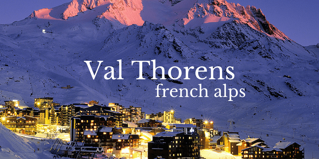 Val Thorens French Alps Mountain Guide