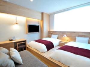Hotel androoms Osaka Hommachi Bedroom