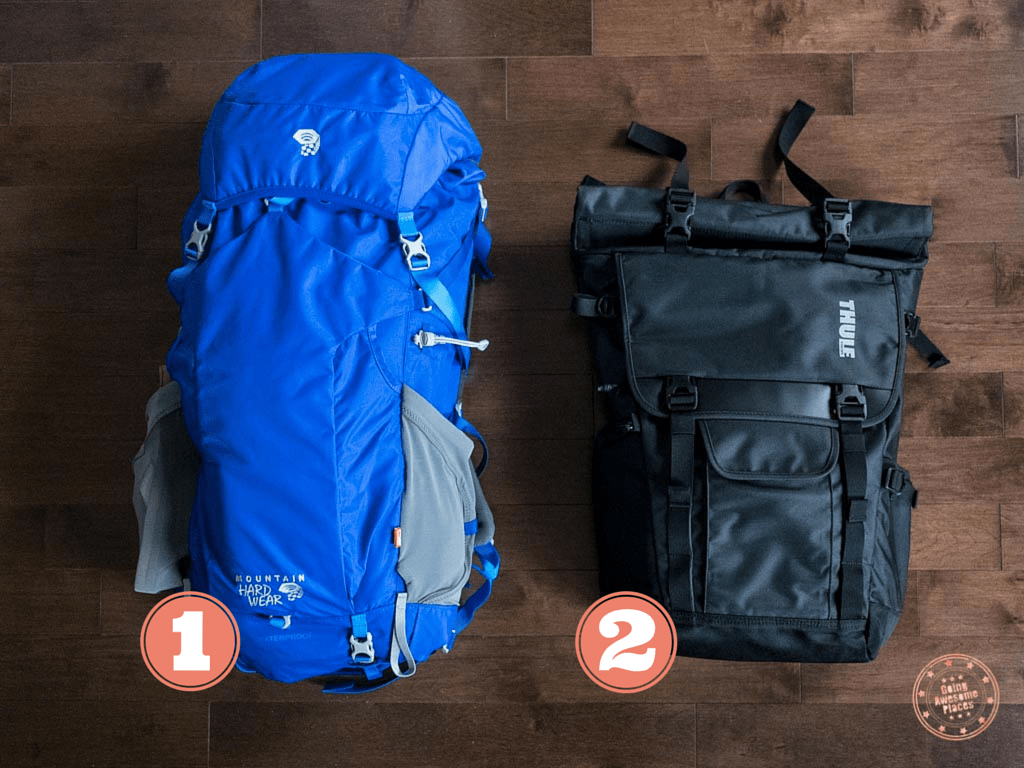 Eurotrip Packing Backpacks