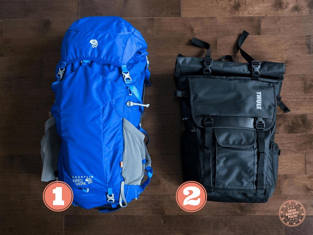 Eurotrip Packing Backpacks