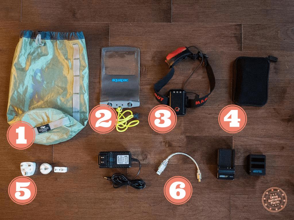 Eurotrip Packing Electronics