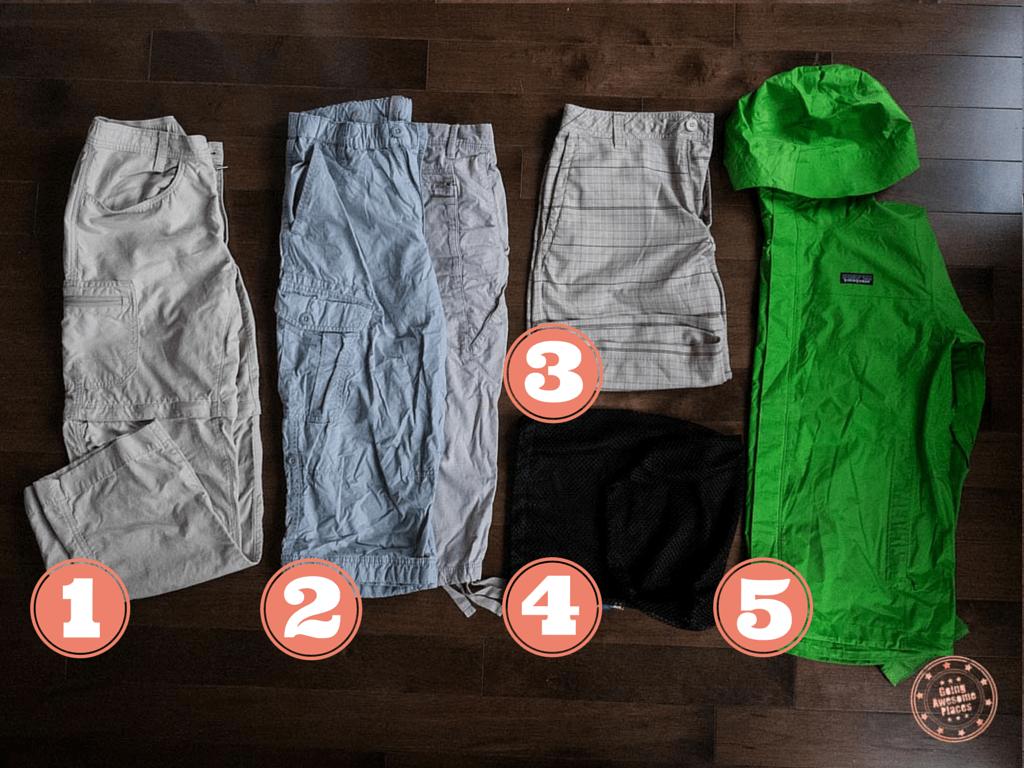 Eurotrip Packing Pants & Jacket