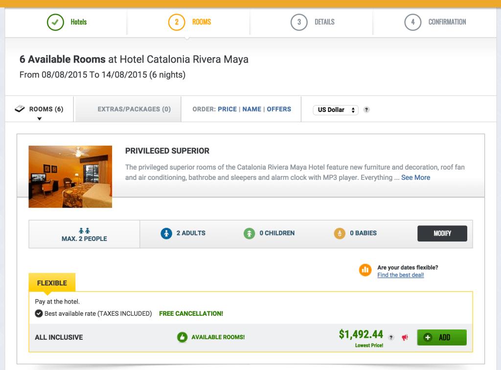 Catalonia-Maya-Riviera-Pricing