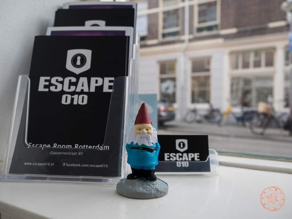 Our very first two challenge of Competitours were escape rooms in Rotterdam. I never would've guessed!