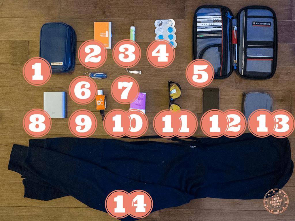 Eurotrip Packing Daypack 2