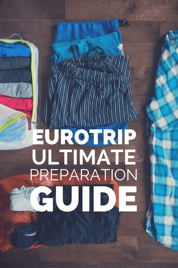 Ultimate Eurotrip Packing Guide