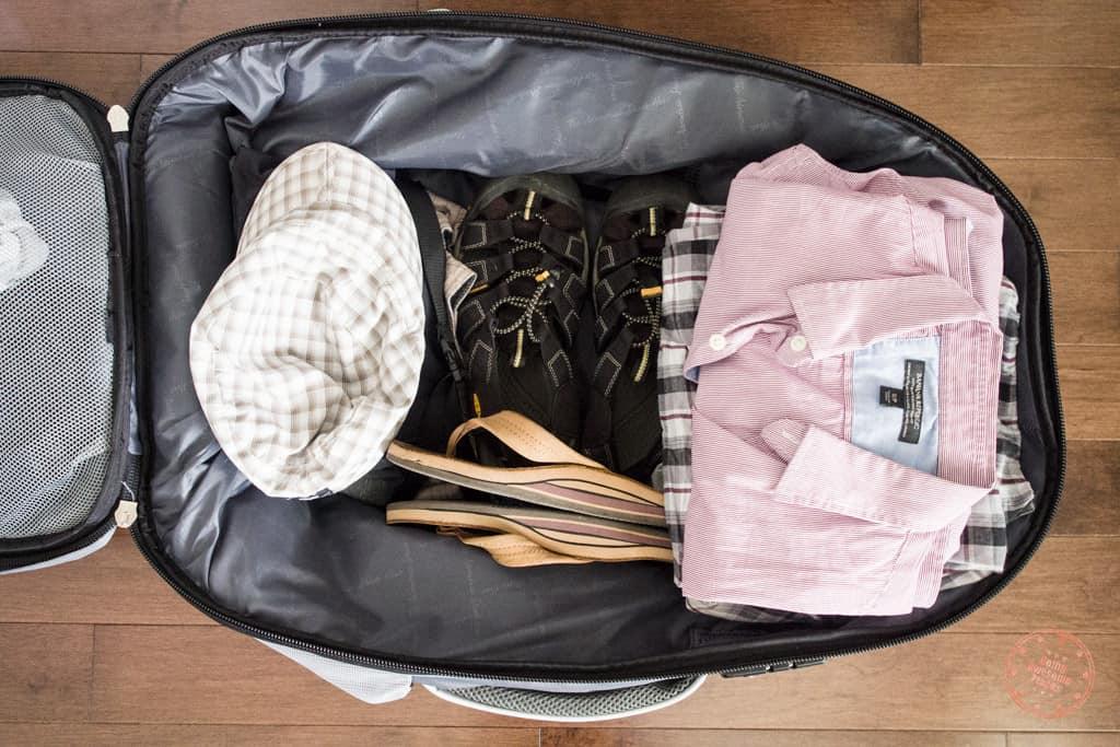 Numinous 55L Backpack Lay Flat
