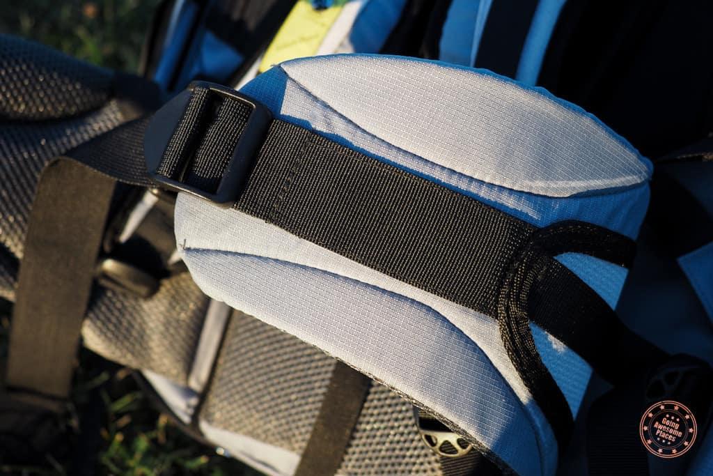 Numinous 55L Backpack Waist Straps
