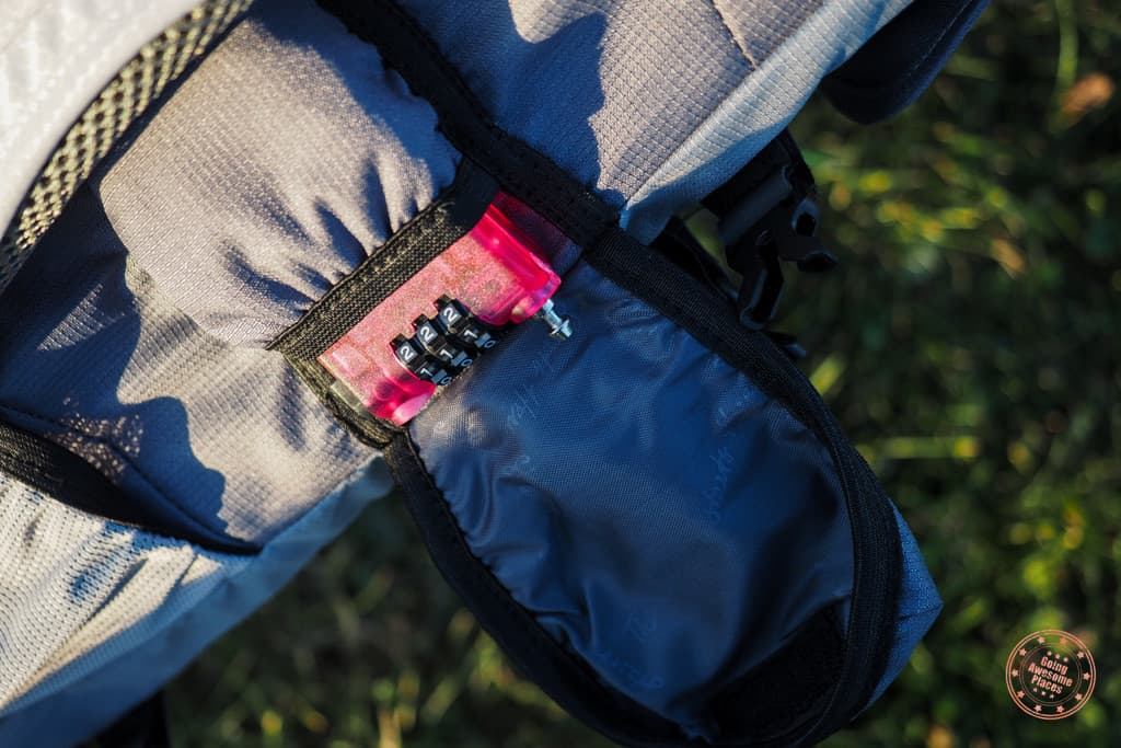 Numinous Backpack Wire Lock