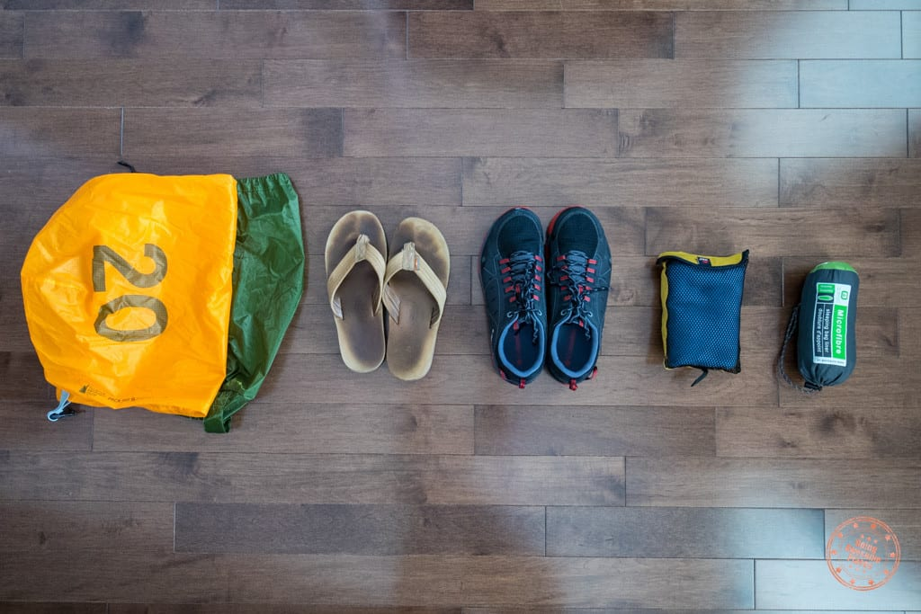 peru packing list - shoes and things