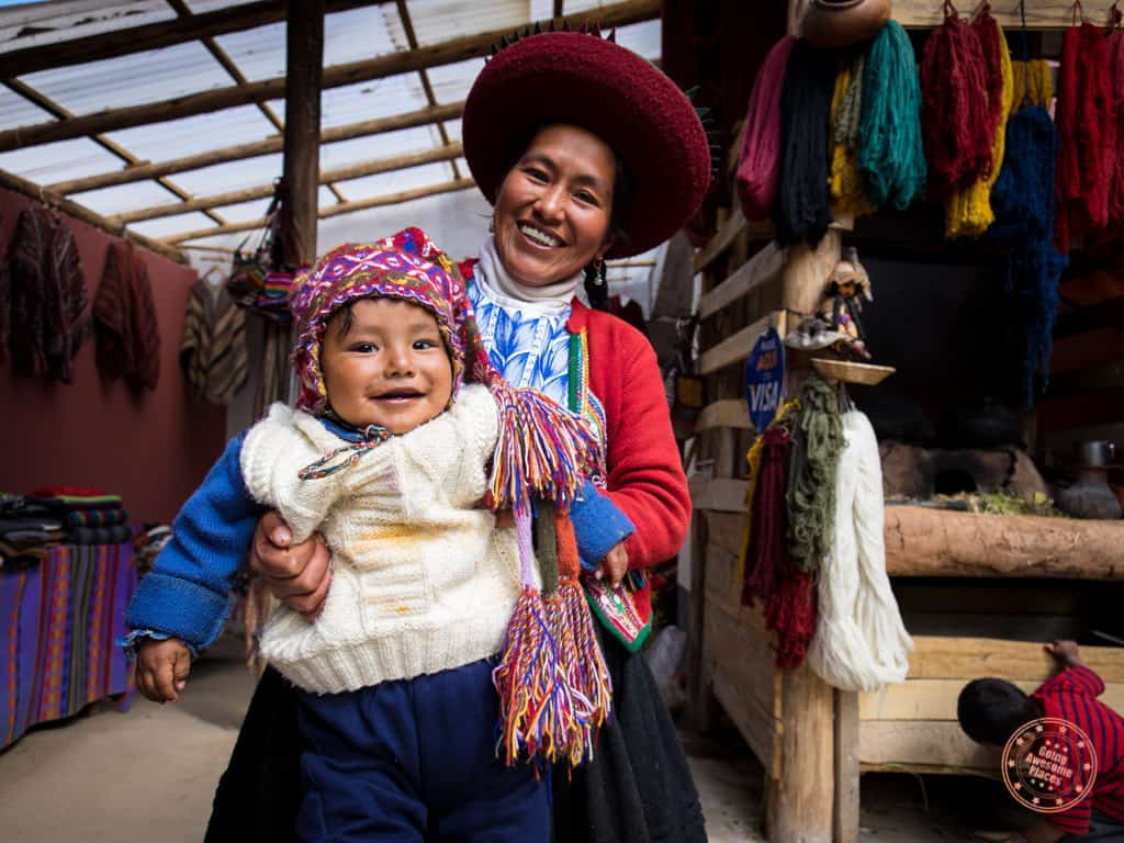 Peruvian Locals - Mother and Child