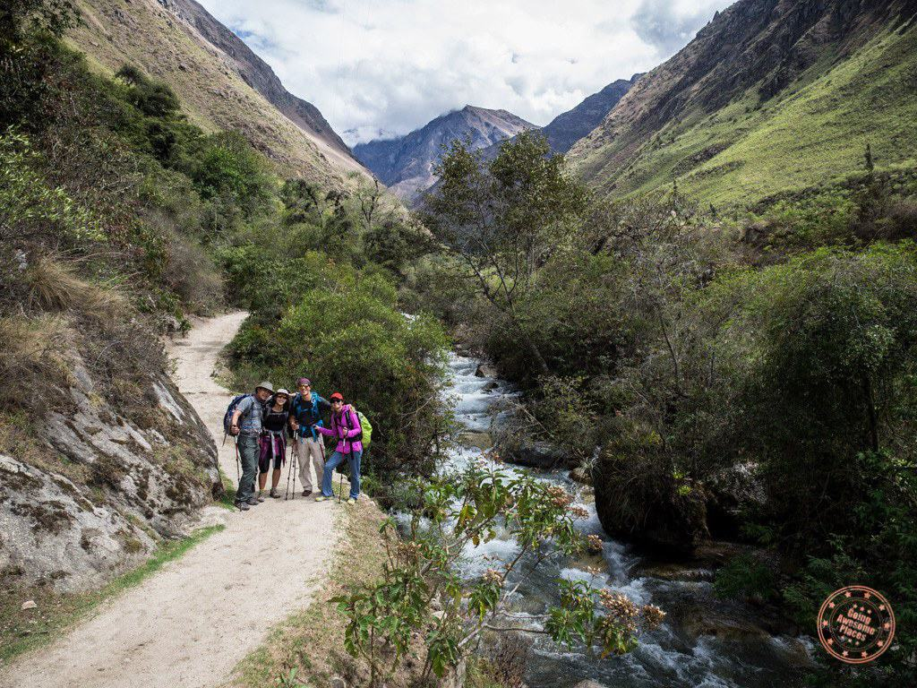 Day 1 on the Inca Trail