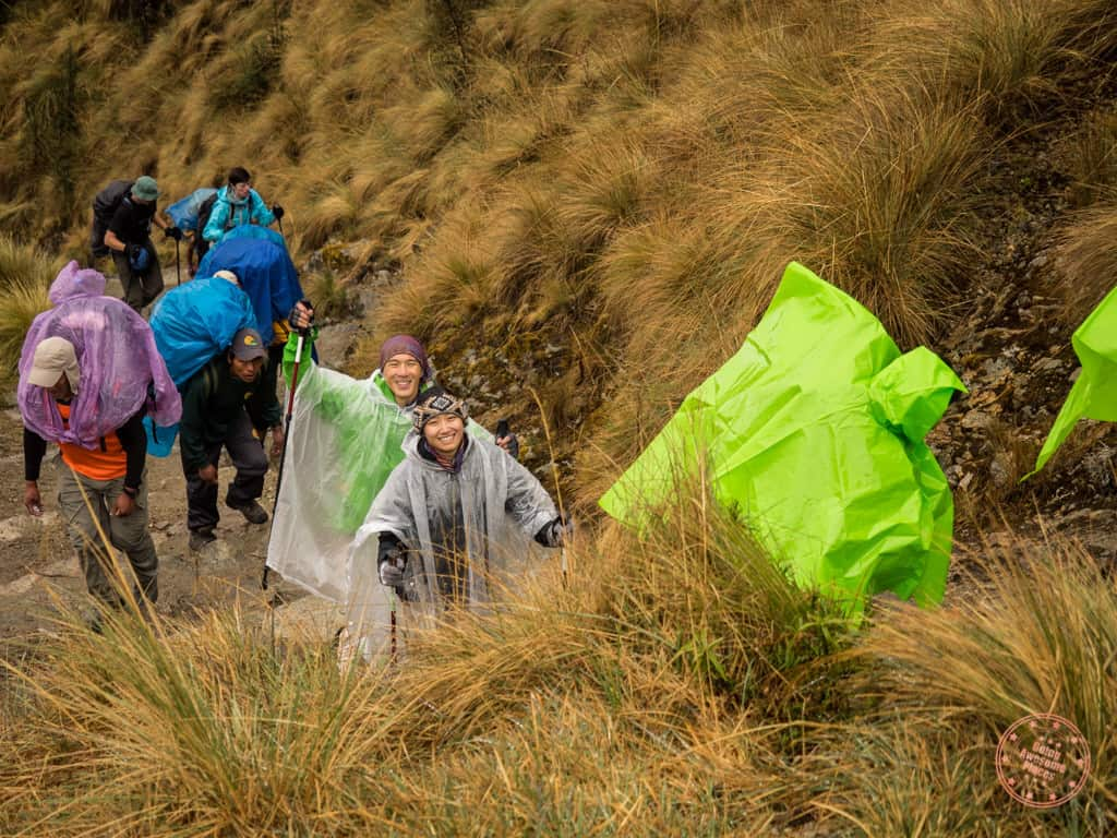 Inca Trail Dead Woman's Pass Strugle