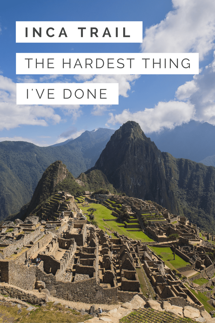 Hiking the Inca Trail is on everyone's bucket list but rarely does anyone talk about what it's really like to trek to Machu Picchu.