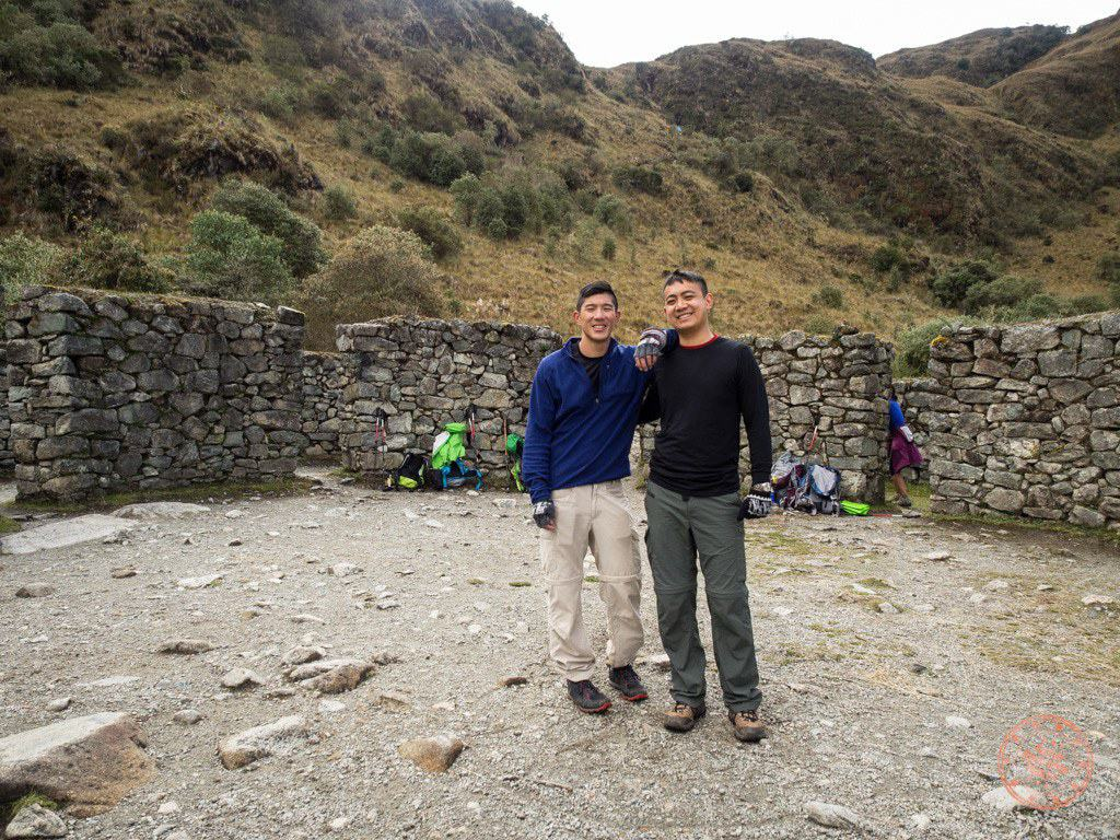 We were taking breaks wherever we could and this one was a nice long one as Juan Carlos explained a bit about this Inca site.