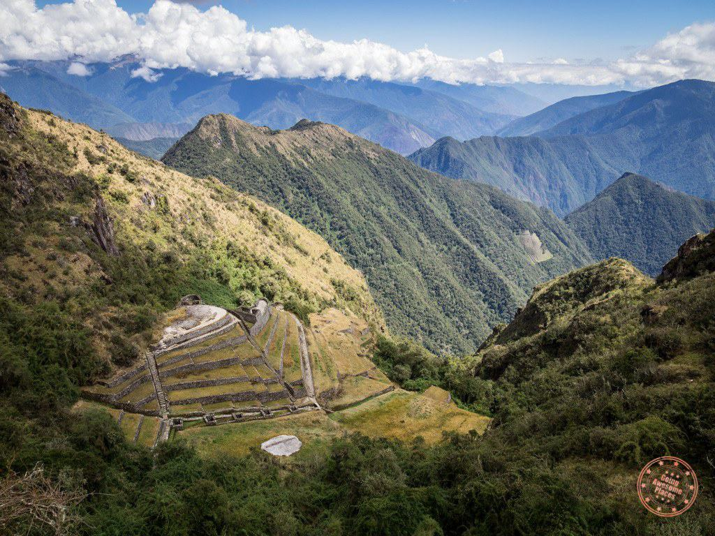 Beautiful Inca Sites Along The Trail