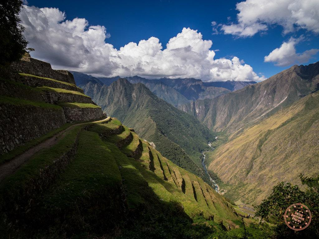 This was the view we were treated with as we walked towards Intipata. The valley just opened up below.