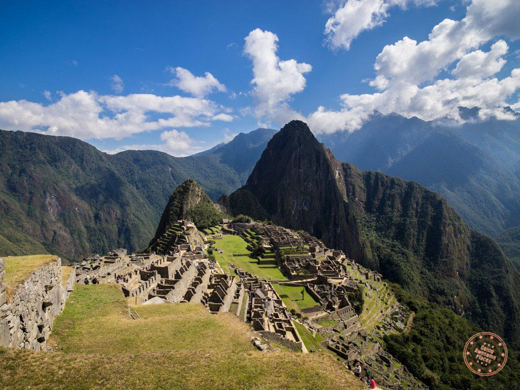machu picchu hike morning view including huayna picchu with alpaca expeditions