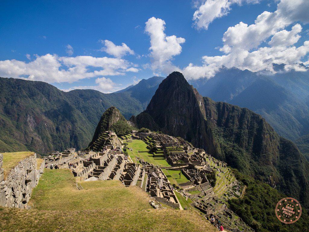 Machu Picchu In Full View