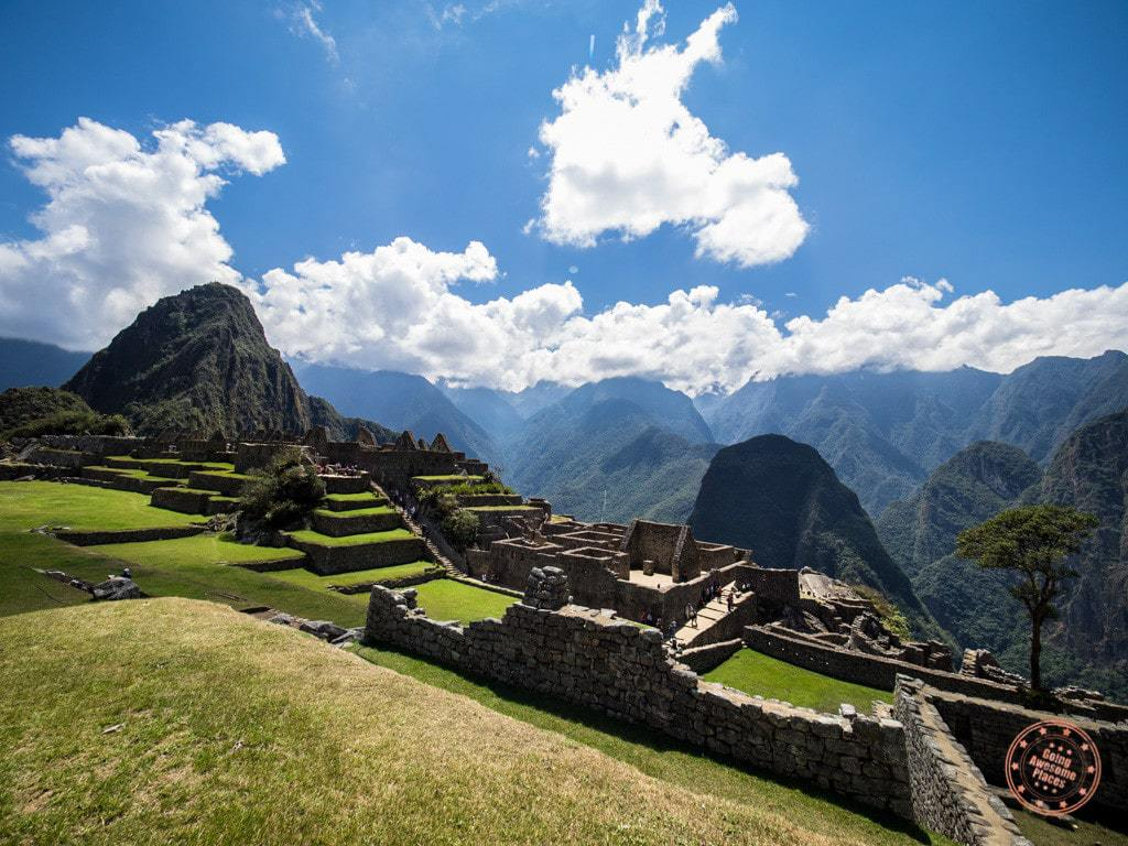 After exiting Machu Picchu and entering back in sans hiking sticks, our guide Juan Carlos gave us a thorough tour of the entire city ruins.