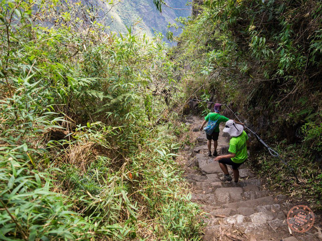 A look at what it was like to go down Huaynu Picchu. We ended up finishing at 12:48PM. I couldn't believe we did it that fast.