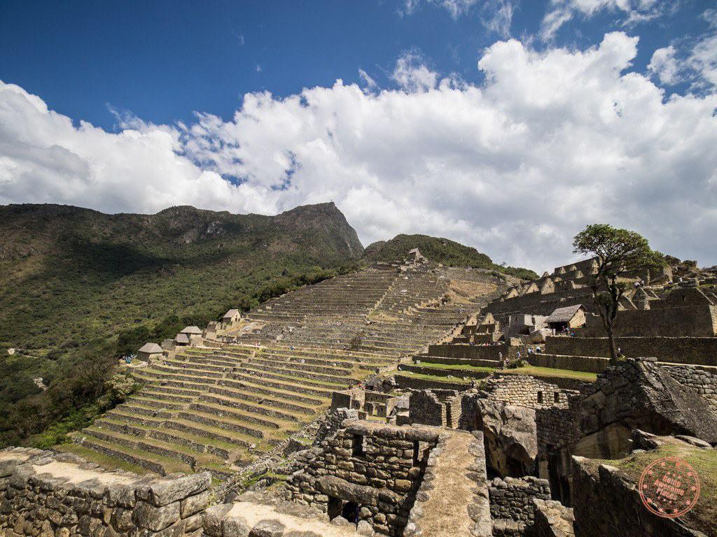 More alternate looks back at Machu Picchu