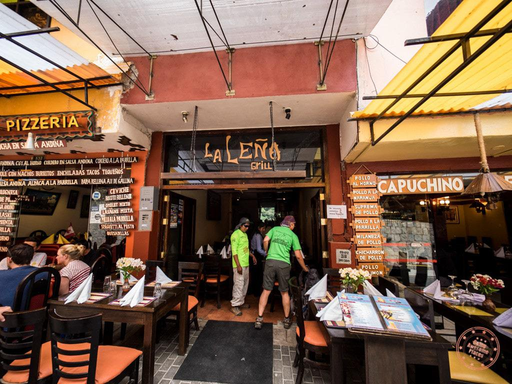 After taking the bus down, we walked over to our designated restaurant. It looked like each tour operator had their own designated restaurant as we saw other groups scattered around Aguas Calientes. This is where we ate our lunch (not covered) and said goodbye to Juan Carlos.
