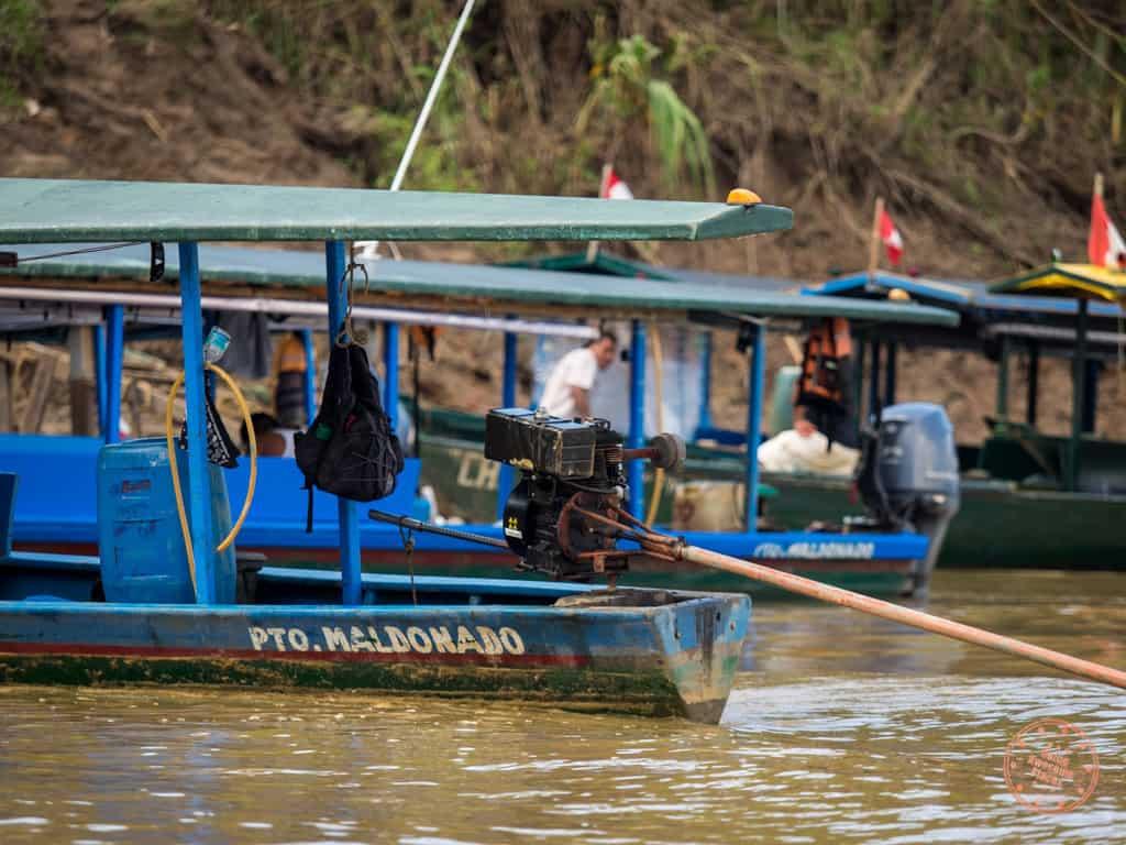 Puerto Maldonado Boats to the Lodge