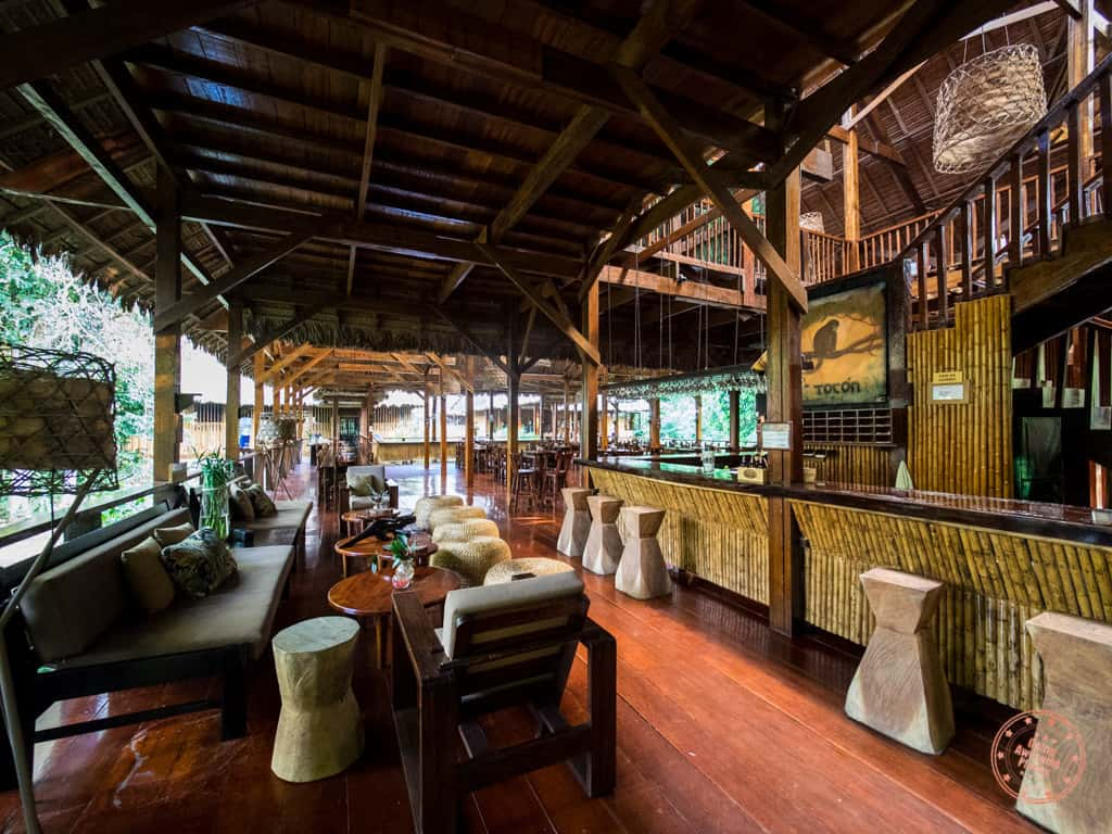 refugio amazonas lounge and bar in peru amazon jungle