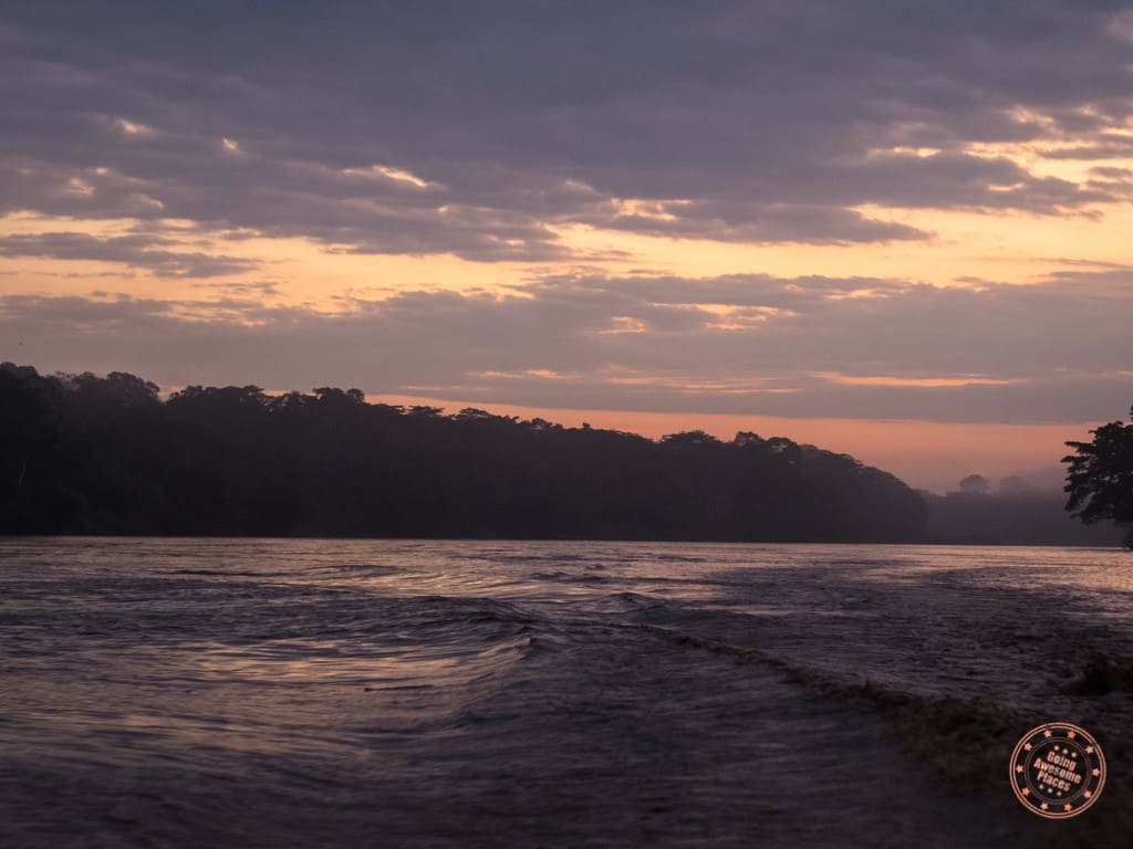 Early Morning On the Tambopata River