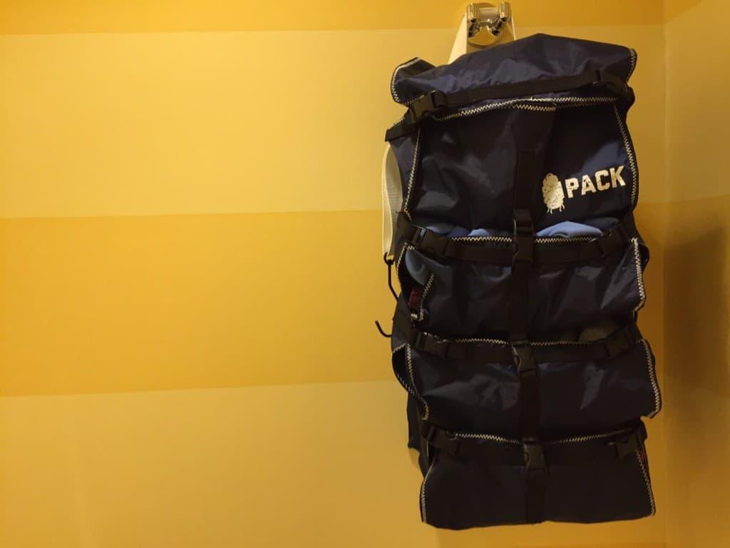 Pack Gear Top Handle Hanging
