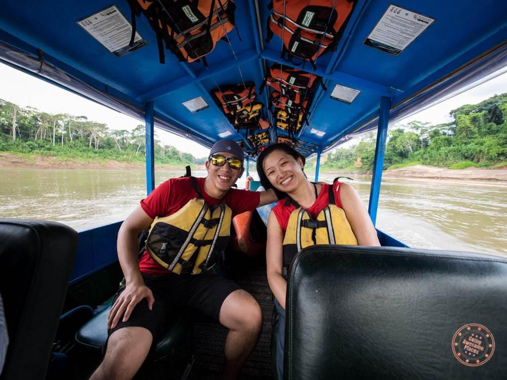 On the Amazon Boat