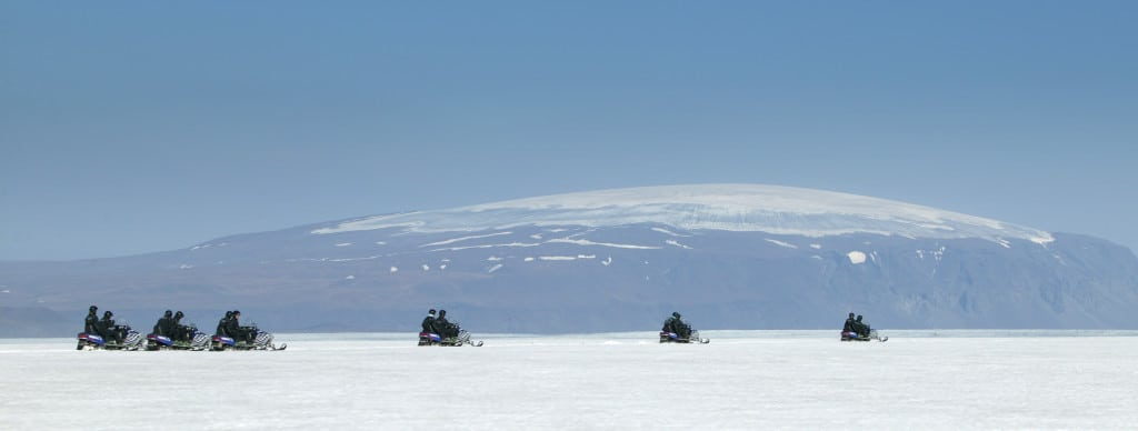 snowmobiling in vik can be part of your iceland itinerary 6 days