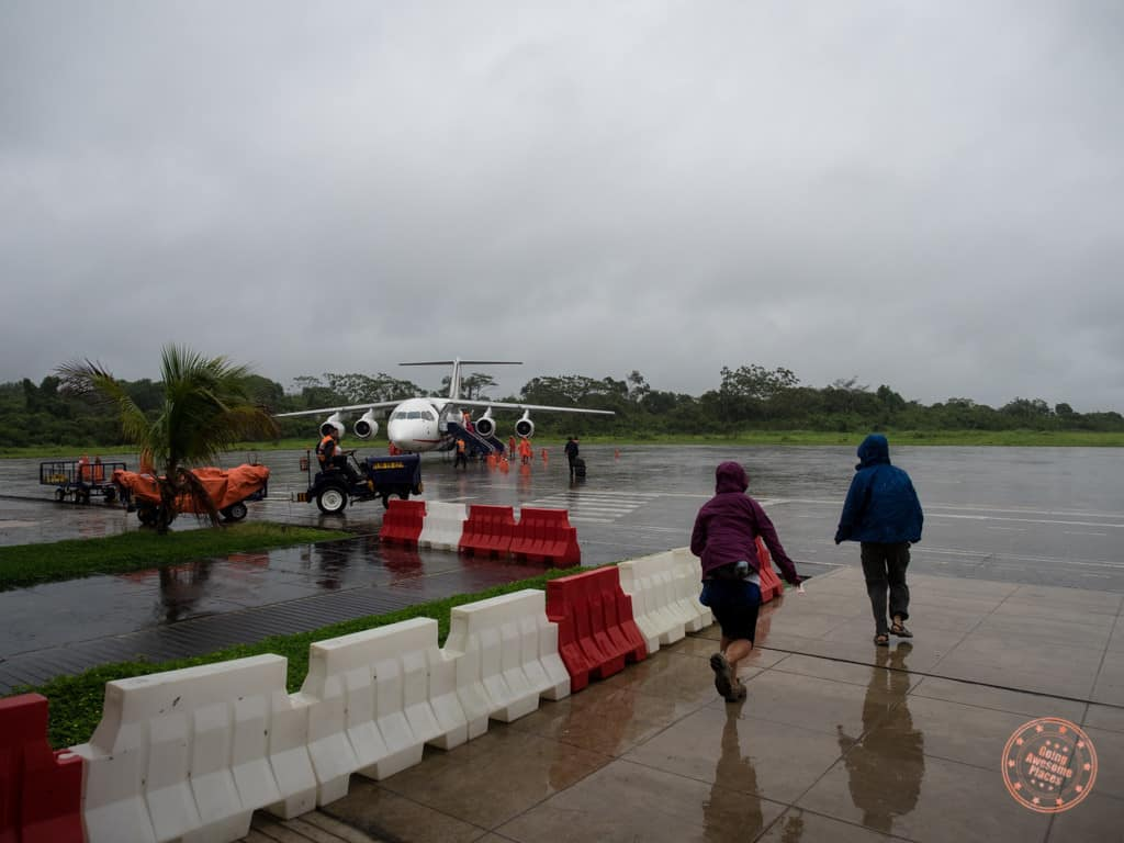 And just like that, our adventures at the Refugio Amazonas were over! It was raining cats and dogs at this point. Luckily our flight back to Lima wasn't delayed.