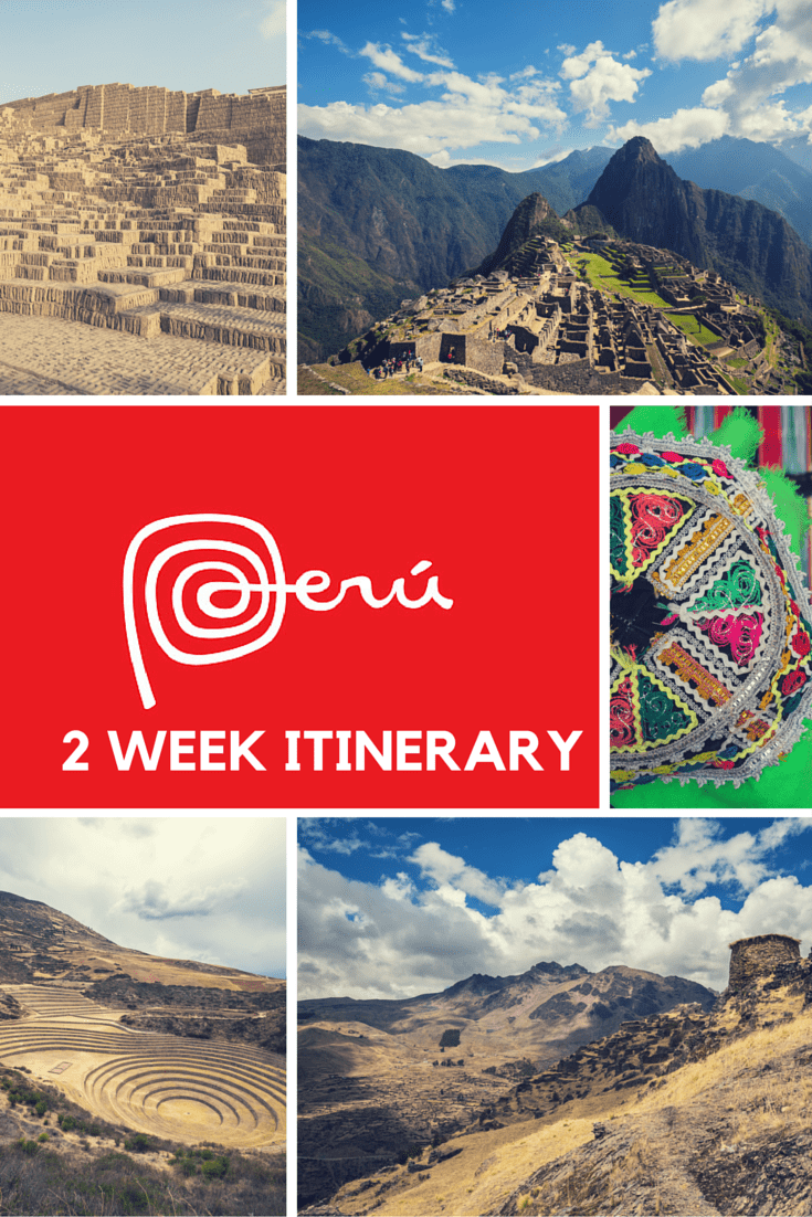 Don\'t plan from scratch and get ideas for your own 2 week Peru itinerary to Machu Picchu and the Amazon Jungle. #Peru #MachuPicchu #AmazonJungle