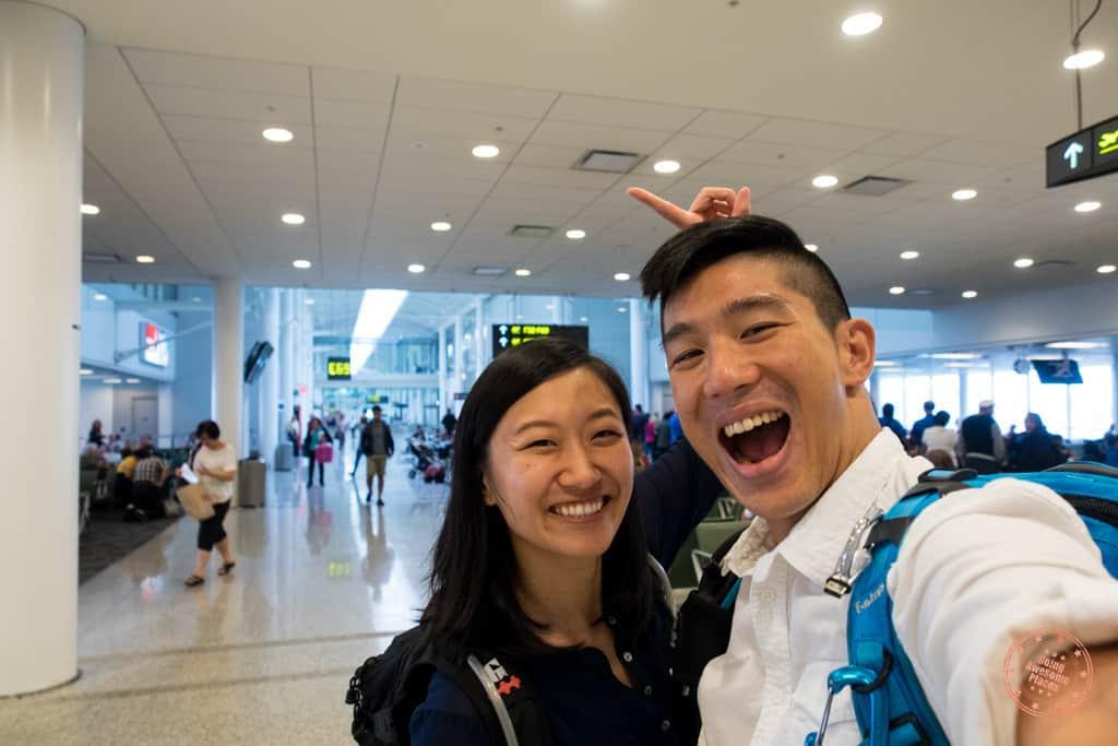 YYZ to LIM Air Canada Flight 2 week peru itinerary