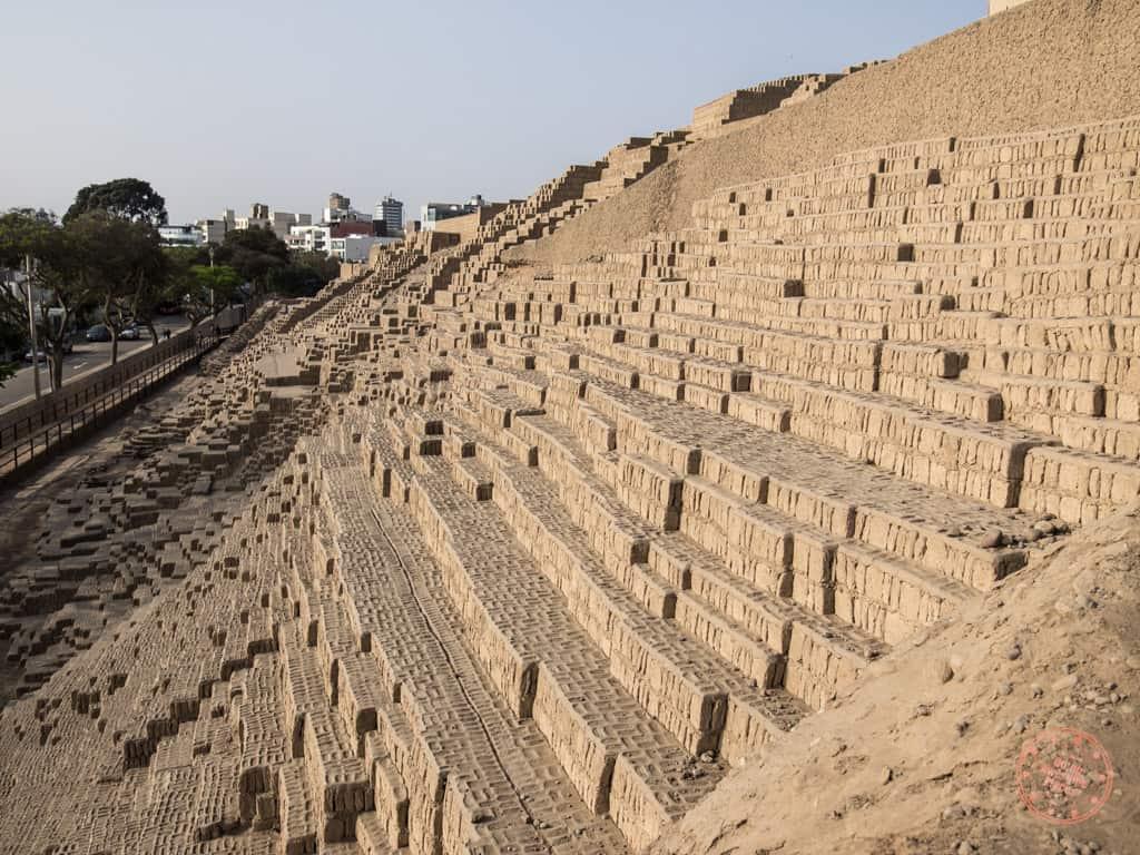 Huaca Pucllana Pre Incan Ruins in Lima