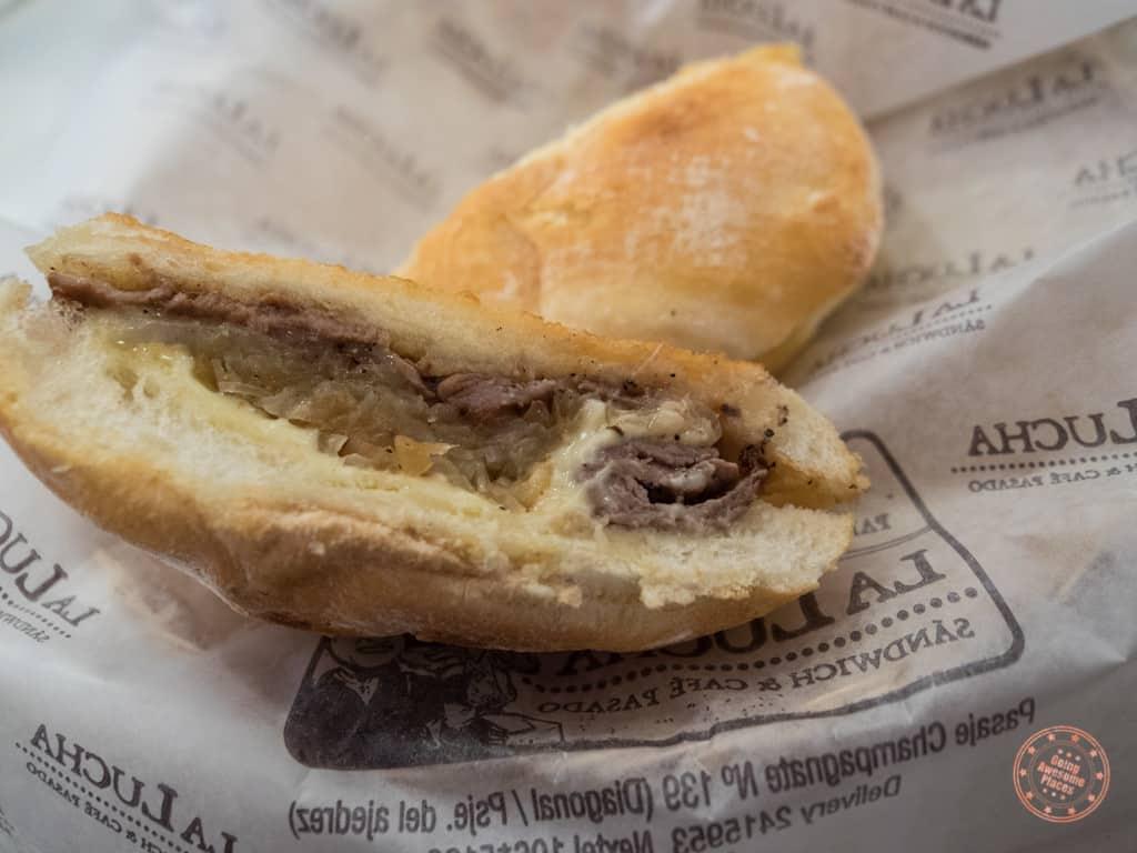 Sangucheria la Lucha Sandwiches