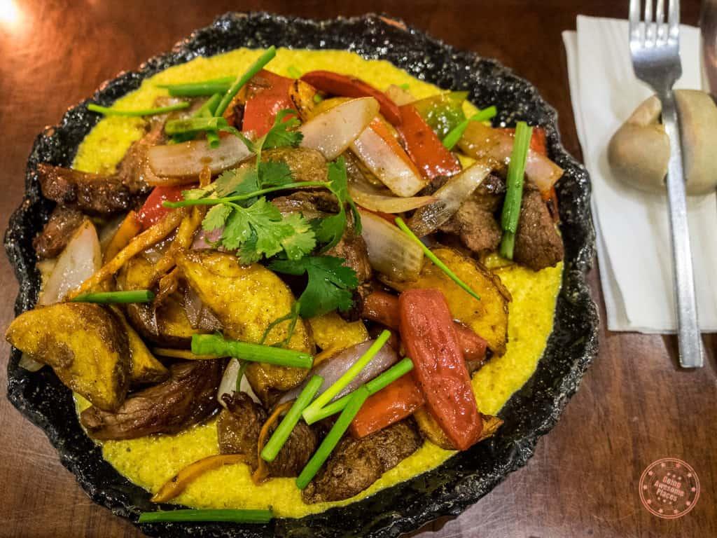 Morena Peruvian Kitchen Lomo Saltado