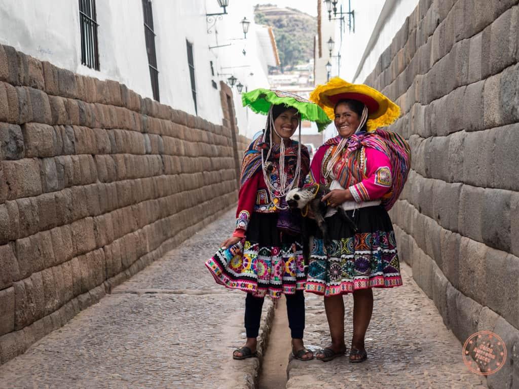 Locals Dress in Cusco