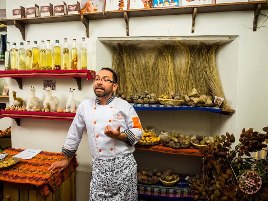 Jose Explaining Peruvian Agricuture