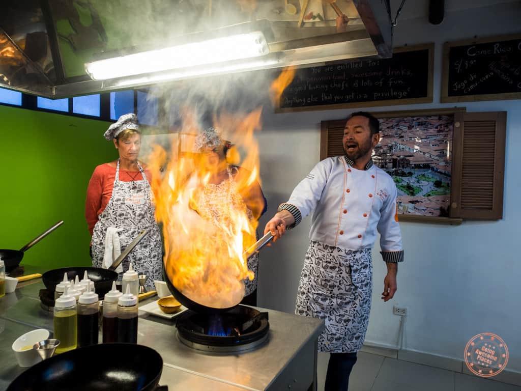 Cooking Class Lomo Saltado