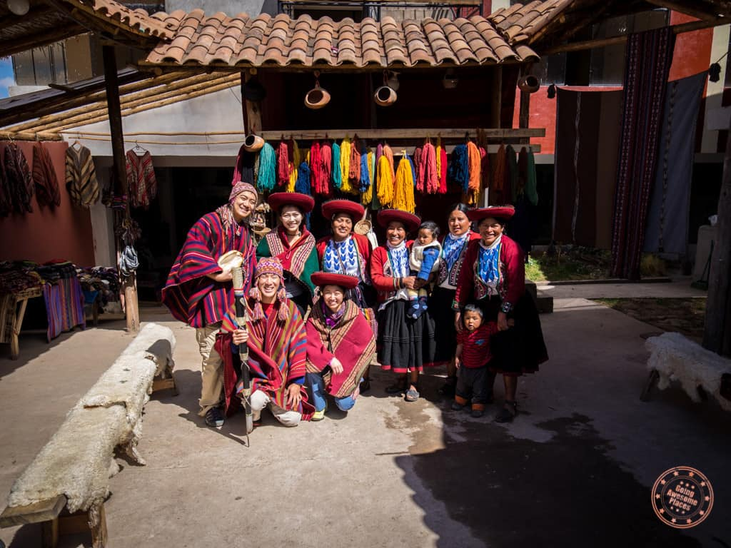 Sacred Valley Fabric Market