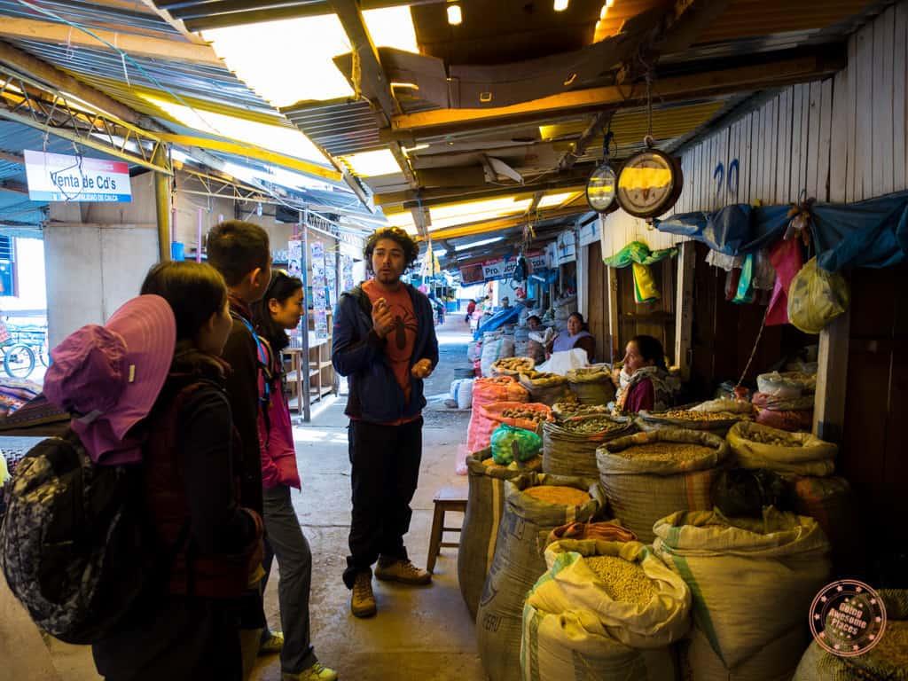 Calca Market Tour