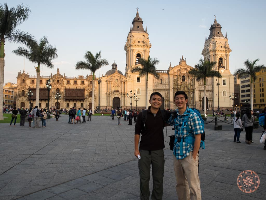 centrao historico lima in day 14 of the 2 week peru itinerary