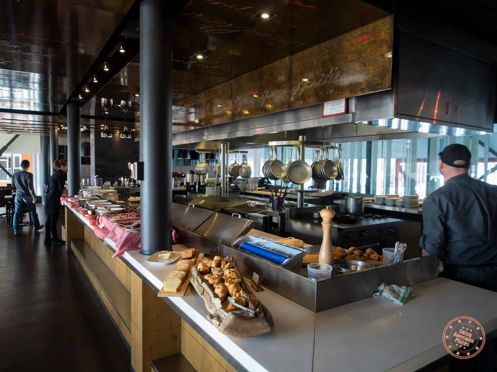 Les Labours for Breakfast Buffet