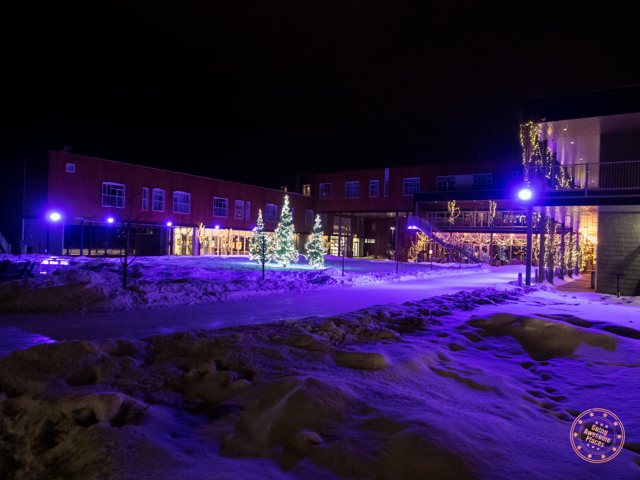 Le Germain Hotel Charlevoix At Night