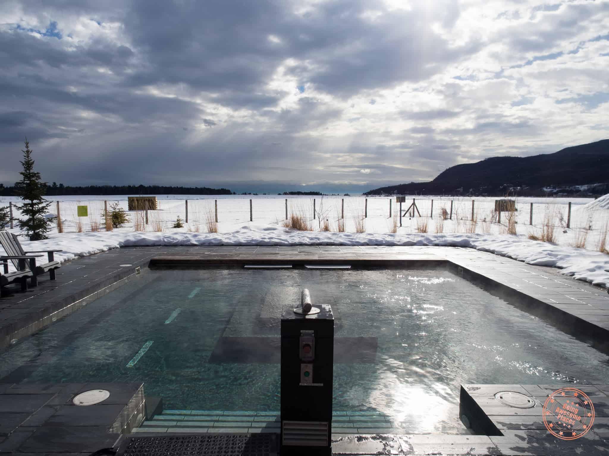 Spa du Verger Hot Pool